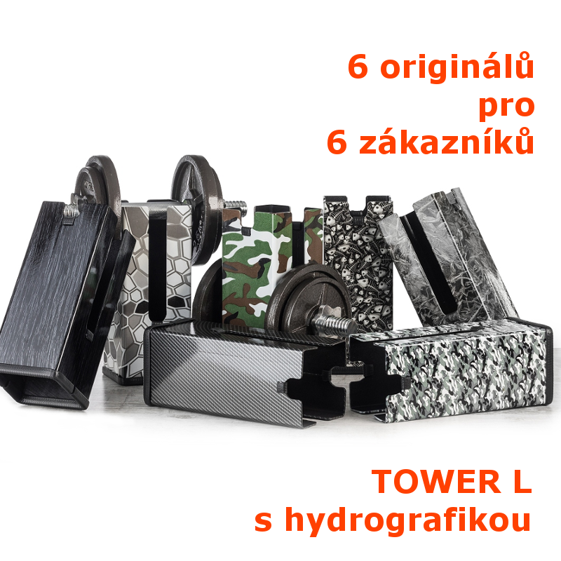 MyBuddy TOWER L s hydrografikou